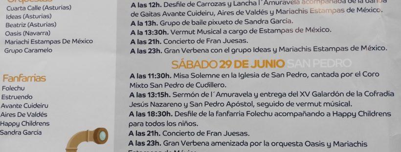 Fiestas de San Pedro, San Pablo y San Pablín