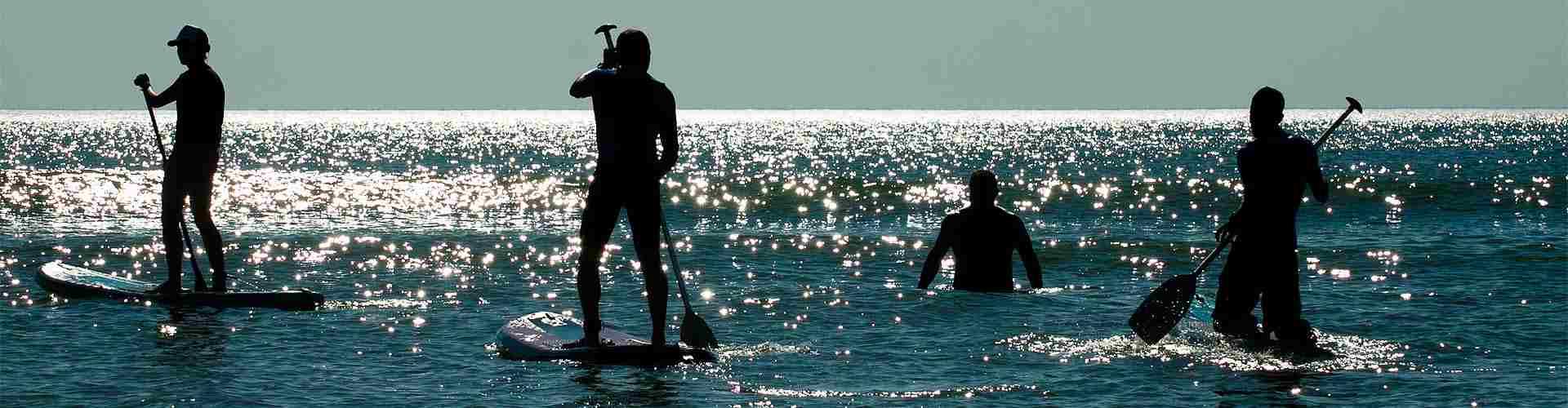 Paddle-surf. Actividades de ocio en Cudillero